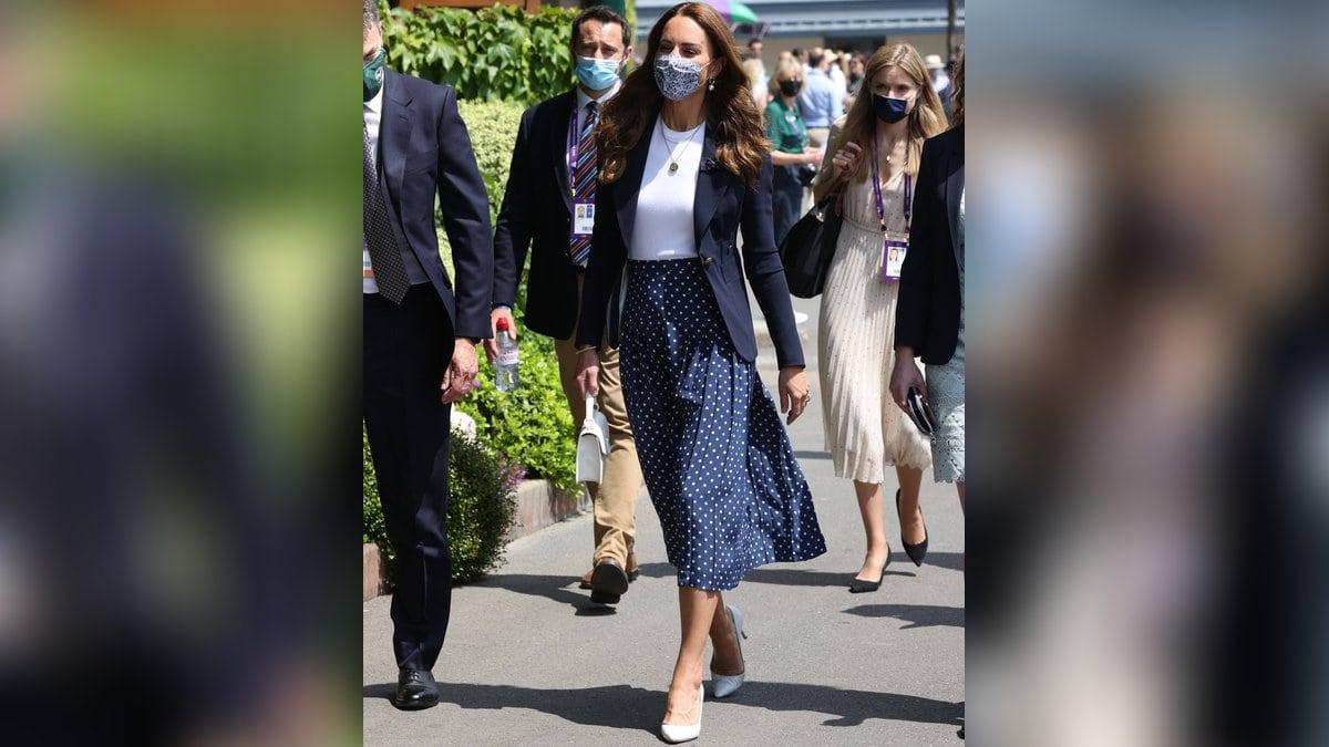 Herzogin Kate in Wimbledon. © imago/i Images
