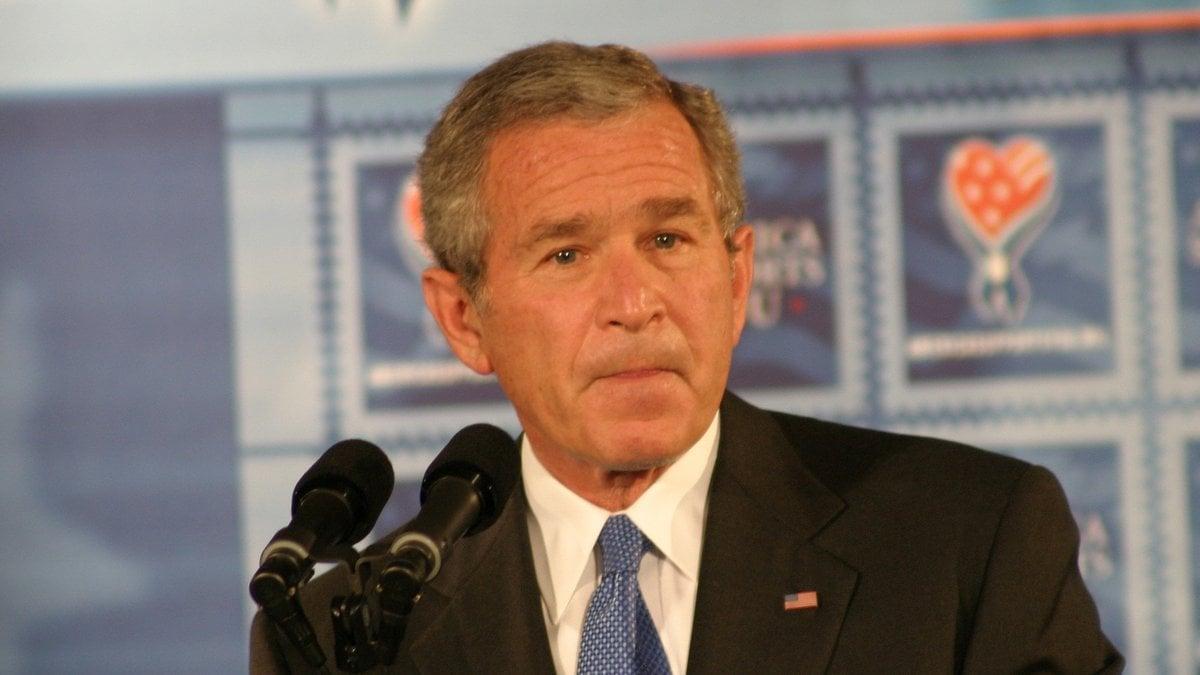 Der ehemalige US-Präsident George W. Bush wird am 6. Juli 75 Jahre alt.. © Jason and Bonnie Grower/Shutterstock.com