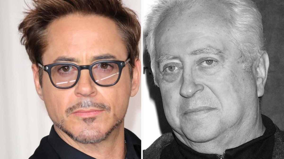 Robert Downey Jr. (li.) hat sich auf Instagram von seinem Vater verabschiedet.. © s_bukley/Shutterstock.com / imago/ZUMA Globe [M]