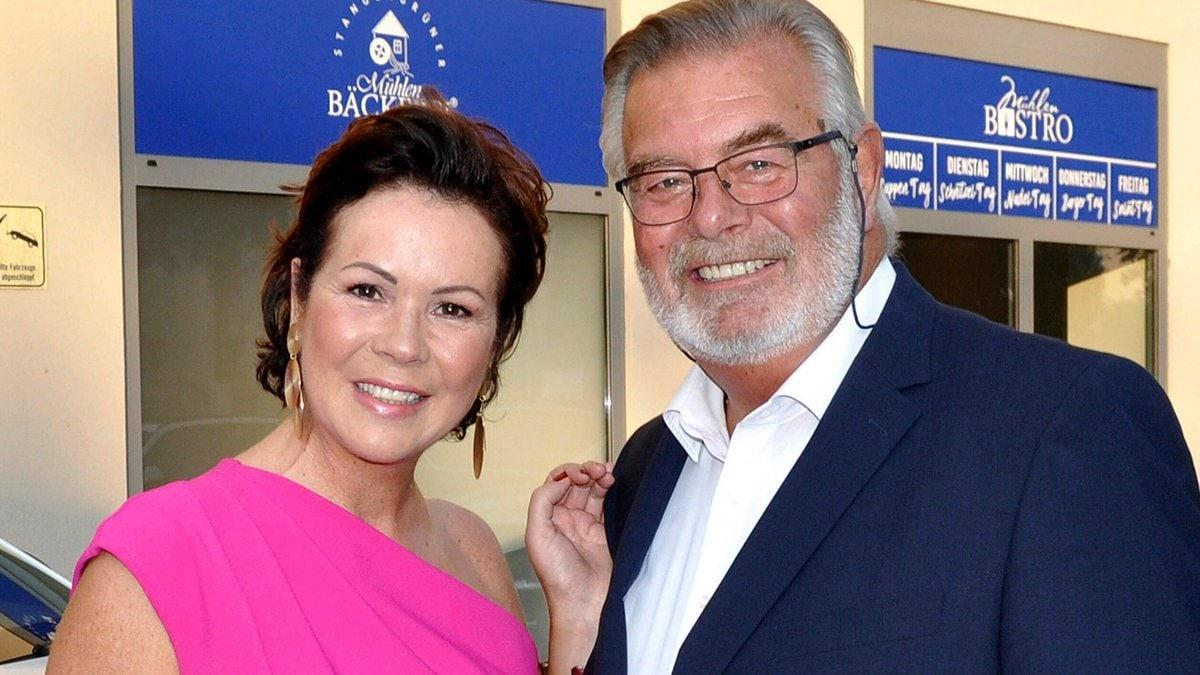 Harry Wijnvoord und Iris Dahlke sind offiziell Mann und Frau.. © imago images/Future Image/M. Wehnert