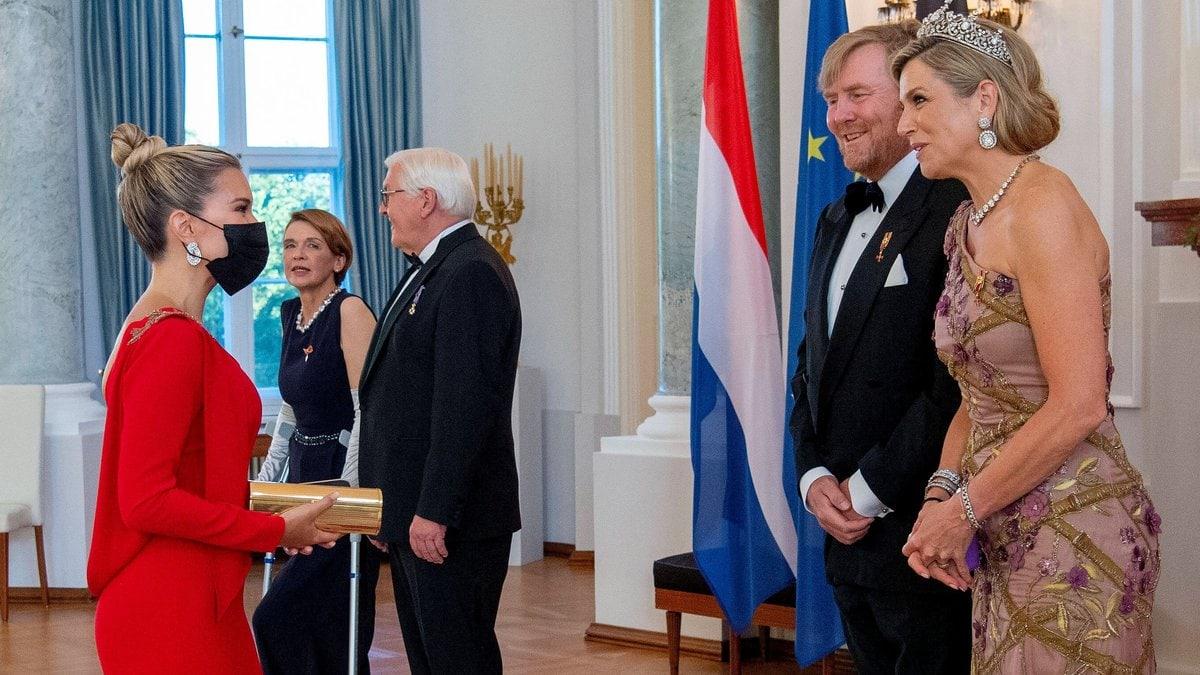 Sylvie Meis traf auf Königin Máxima der Niederland und König Willem-Alexander. © imago/PPE