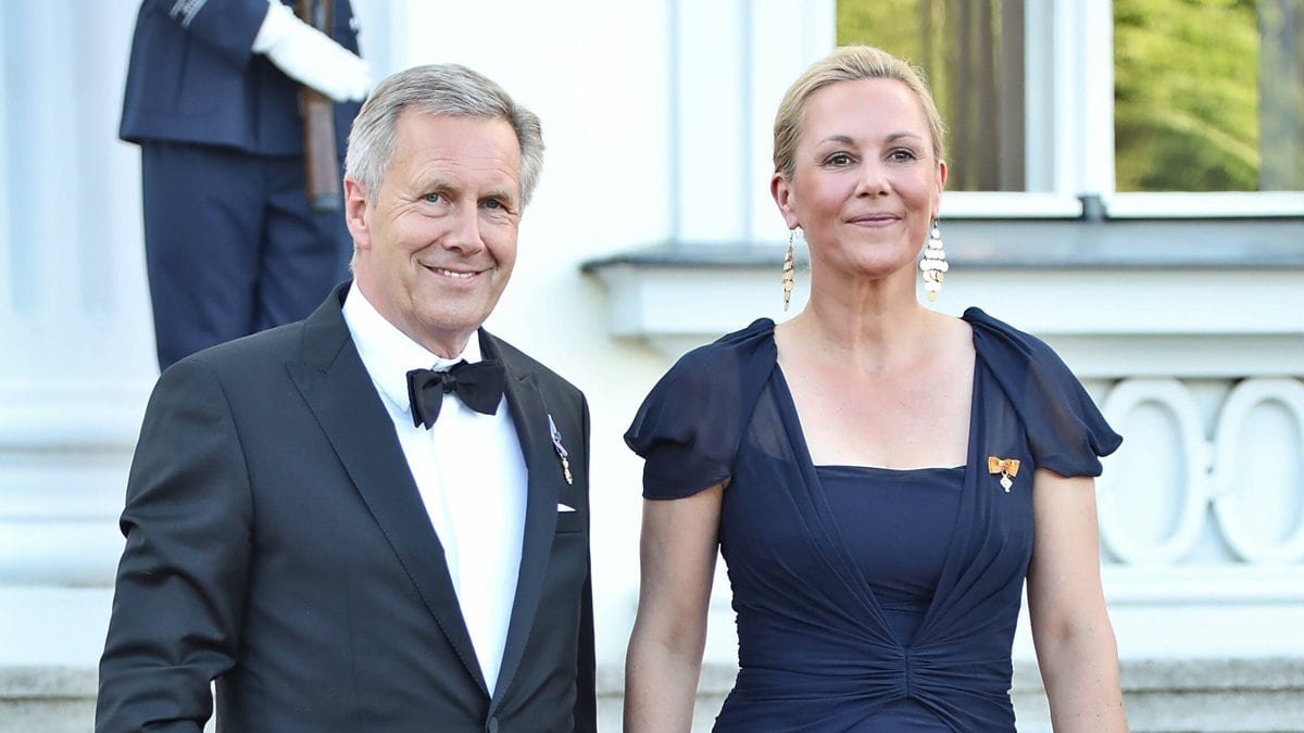 Christian und Bettina Wulff beim Staatsbankett auf Schloss Bellevue.. © imago/Bernd Elmenthaler