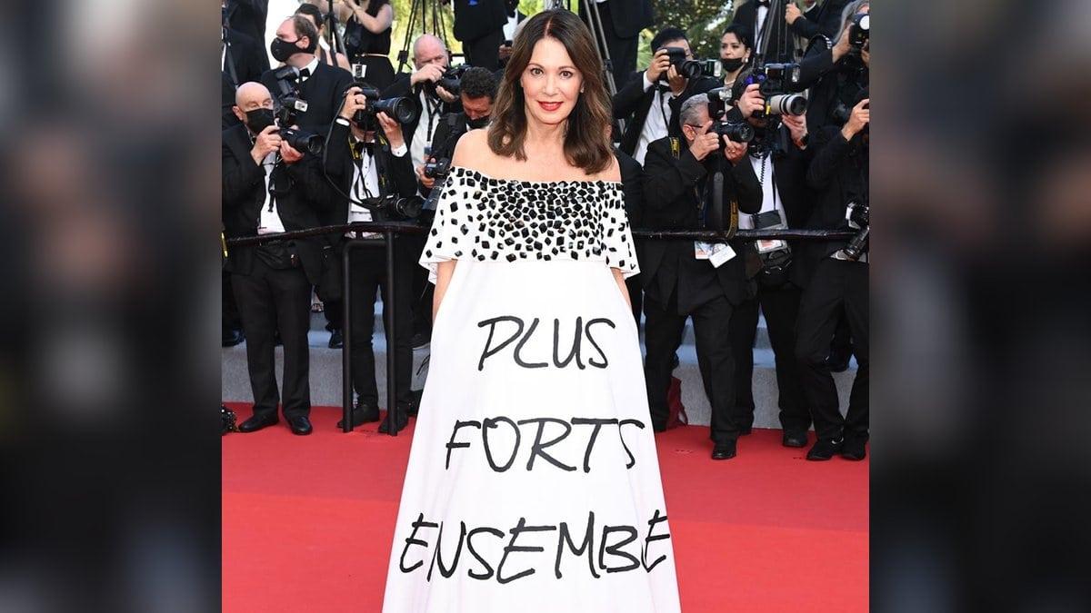 Iris Berben beim Filmfestival in Cannes.. © L'Oréal Paris