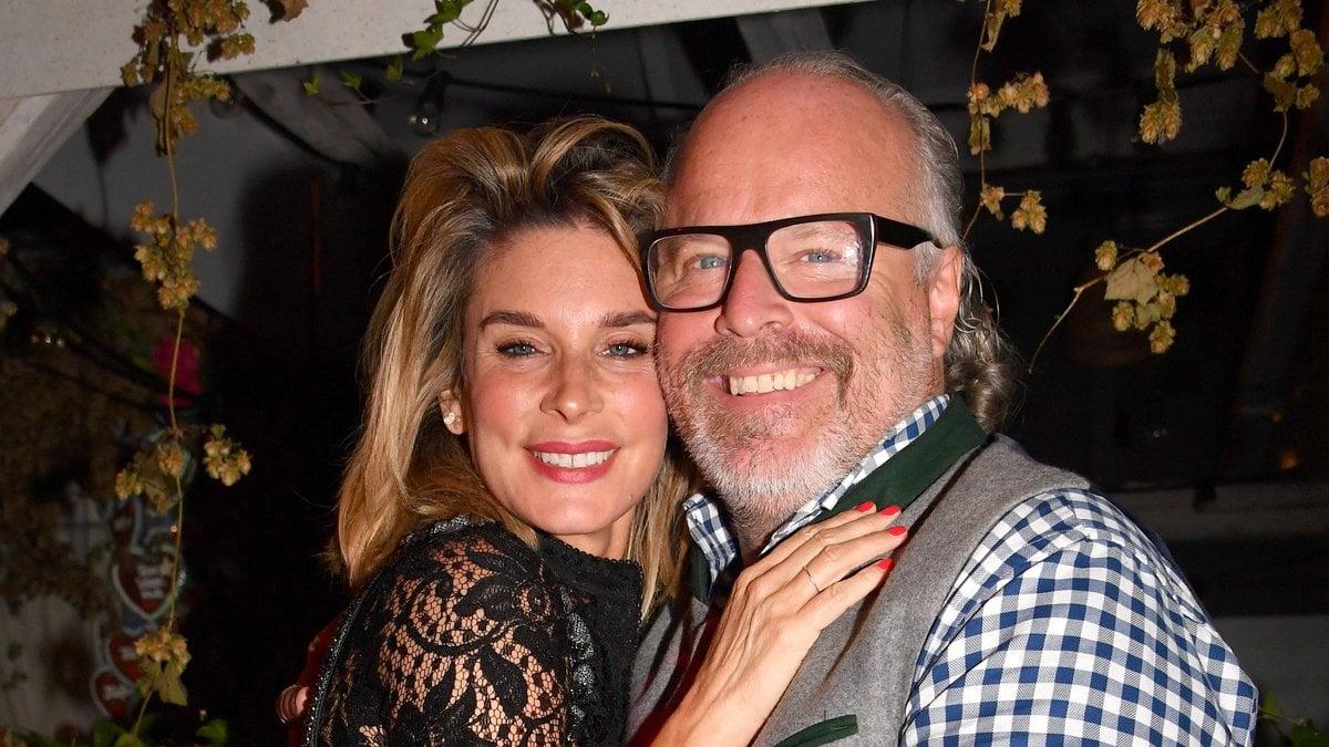 TV-Star Claudelle Deckert und PR-Manager Peter Olsson haben Hochzeit gefeiert.. © imago/Marja