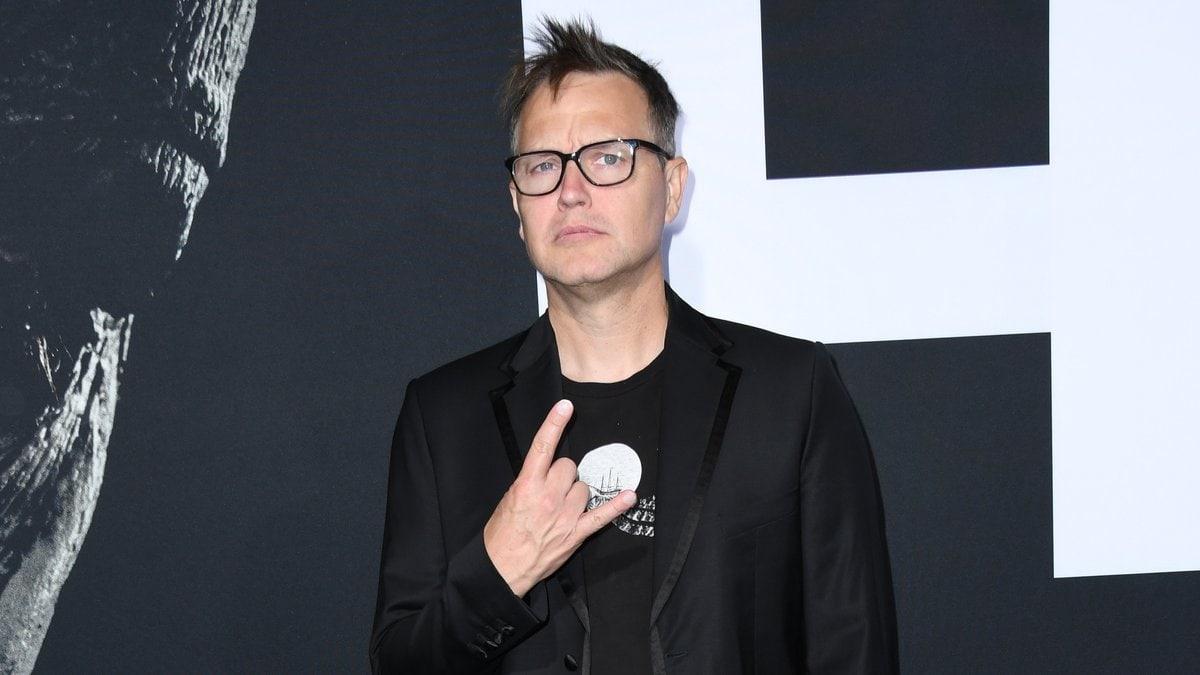 Blink-182-Frontmann Mark Hoppus gab vor wenigen Wochen seine Krebserkrankung bekannt.. © Birdie Thompson/AdMedia/ImageCollect