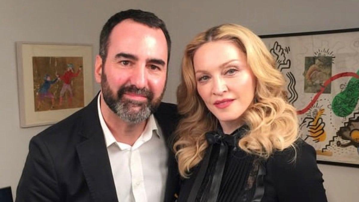 Auch Madonna traf Promi-Reporter David Modjarad schon zum Interview.. © Privat
