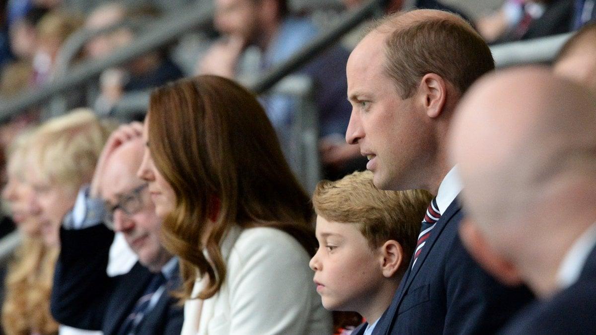 Auch die Royals schauten live beim EM-Endspiel England gegen Italien live in Wembley zu.. © Eamonn McCormack - UEFA/UEFA via Getty Images
