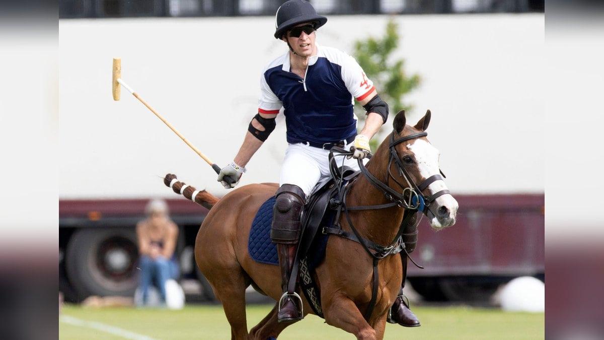Prinz William bei dem Polo-Turnier.. © imago/i Images
