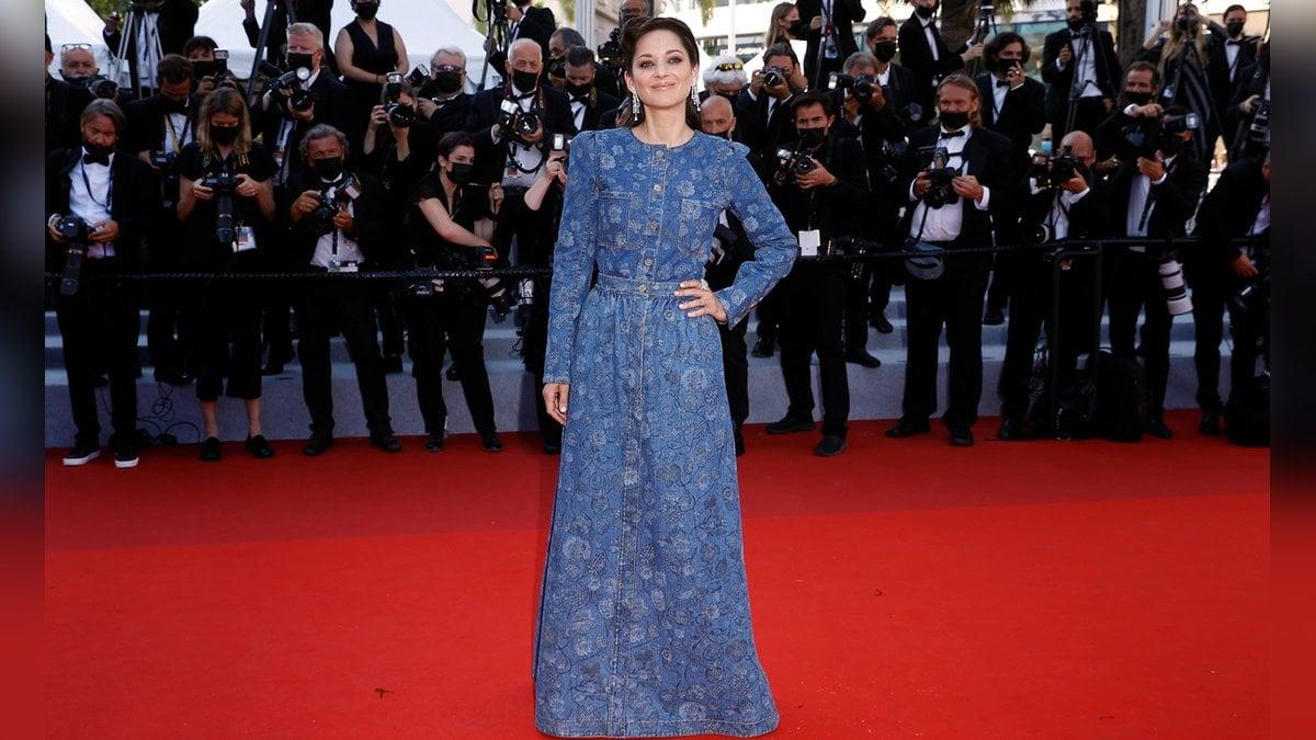 Marion Cotillard bei ihrem Auftritt in Cannes.. © imago/Xinhua