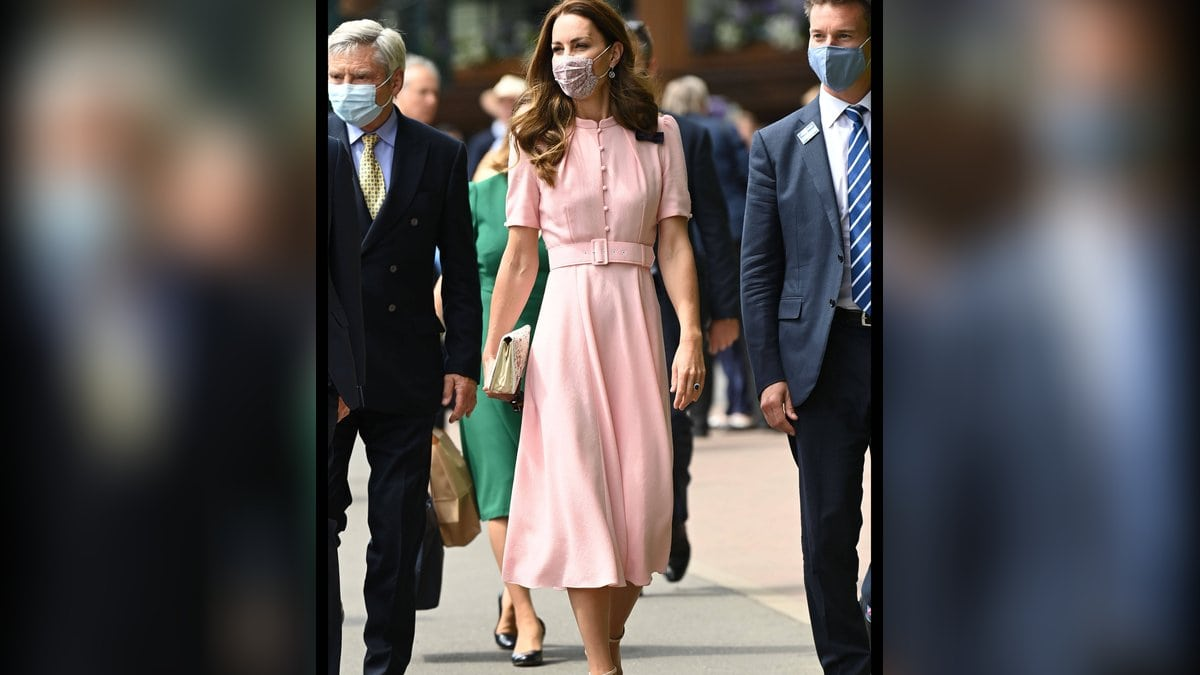 Herzogin Kate in Wimbledon.. © imago/i Images