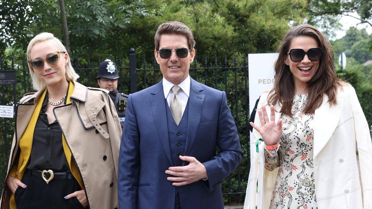 Tom Cruise besucht Wimbledon.. © imago/i Images