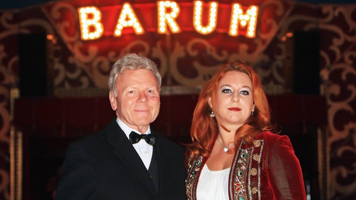 Rebecca und Gerd Siemoneit-Barum. © imago/Hubert Jelinek