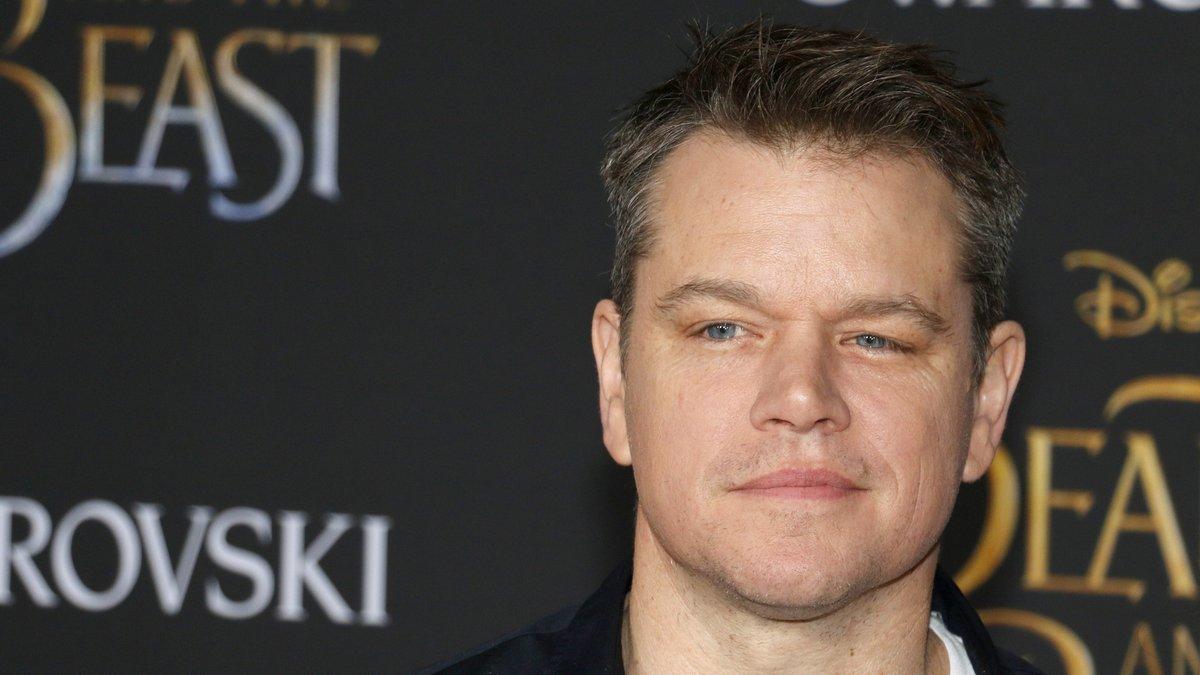 """Matt Damon gewann für seinen Film """"Good Will Hunting"""" einen Oscar.. © Tinseltown/Shutterstock.com"""