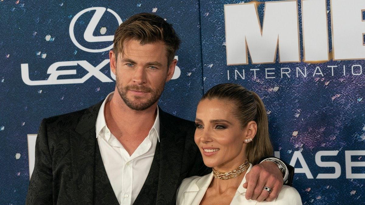 Chris Hemsworth und Elsa Pataky sind seit 2010 verheiratet.. © lev radin/Shutterstock.com