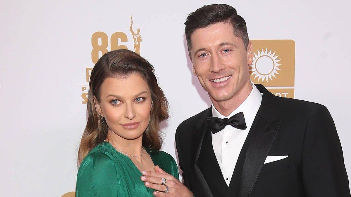 Robert Lewandowski und Anna Lewandowska sind seit acht Jahren verheiratet und haben zwei Kinder.. © imago images/Newspix
