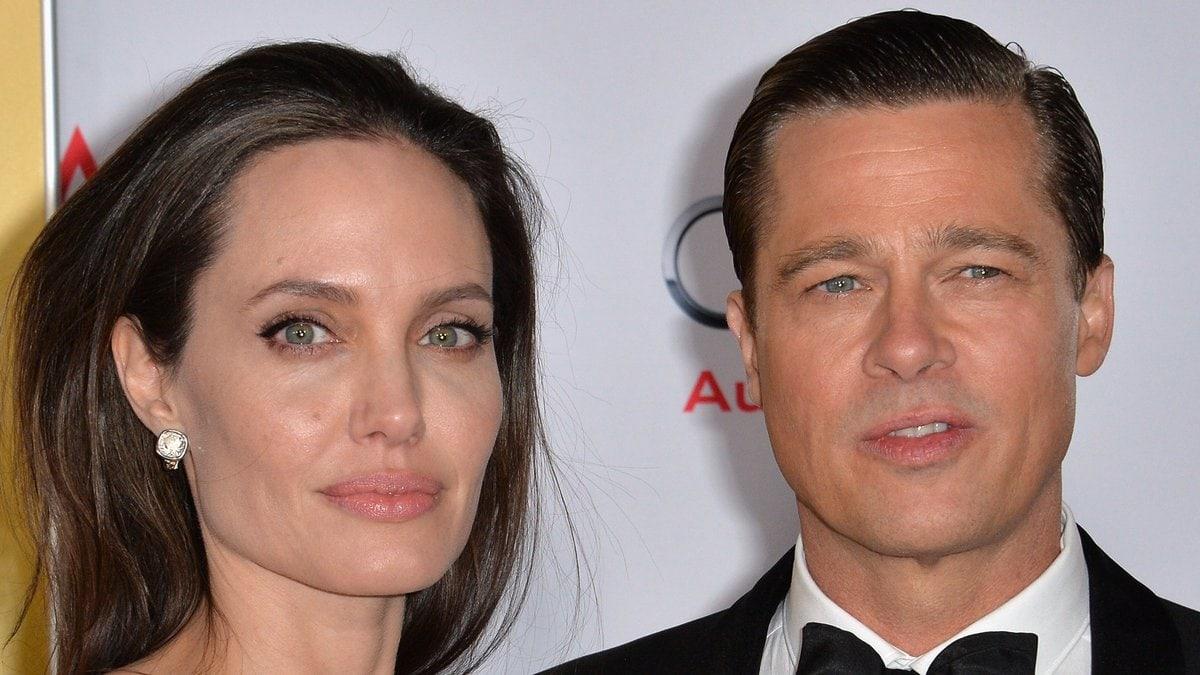 Angelina Jolie und Brad Pitt im Jahr 2015. © Featureflash Photo Agency/Shutterstock.com
