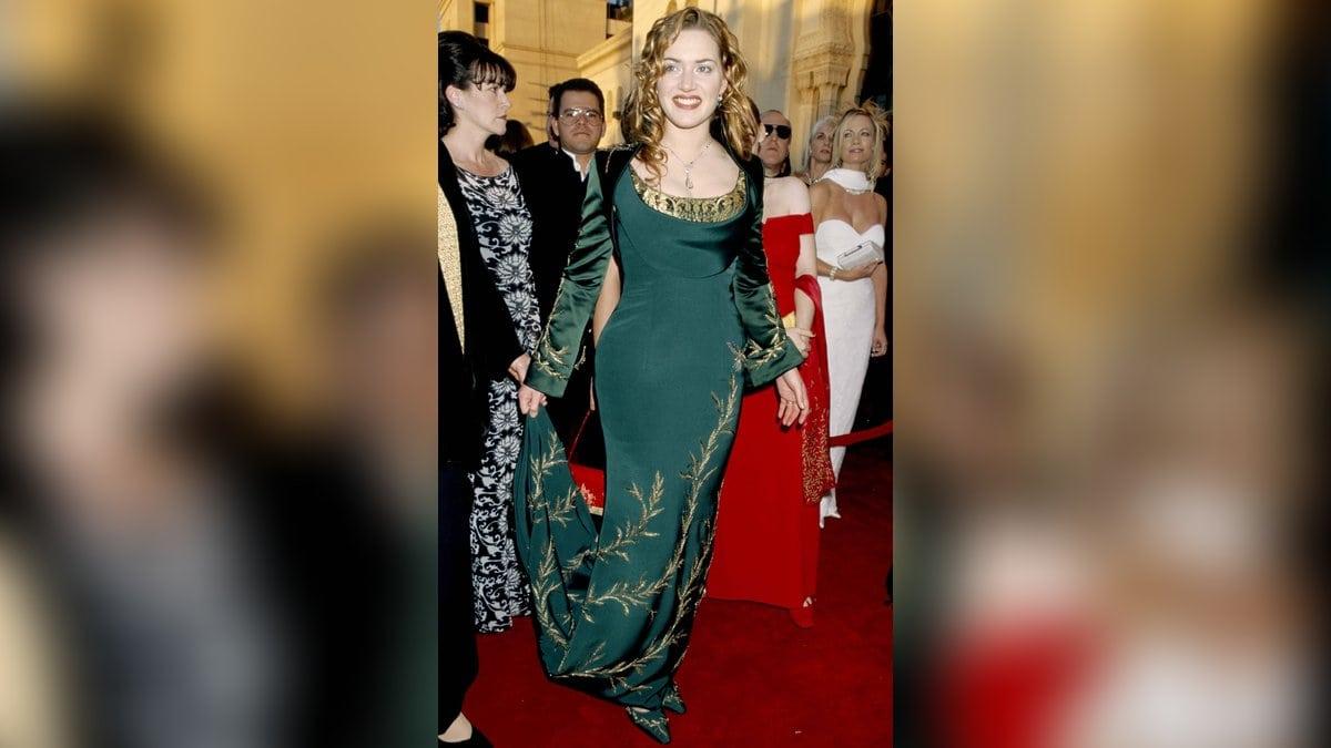 Zu den Oscars 1998 trug Kate Winslet dieses bezaubernde Kleid.. © imago/ZUMA Press