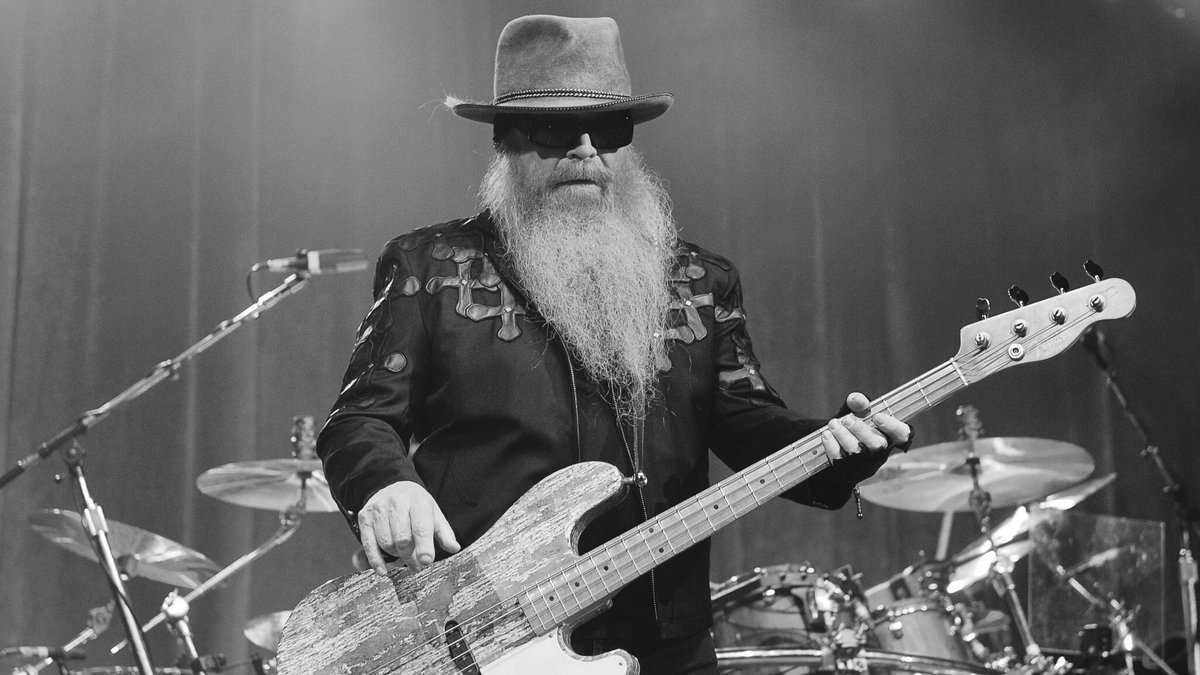 Dusty Hill war Bassist der Kultband ZZ Top.. © Brent Perniac/AdMedia/ImageCollect