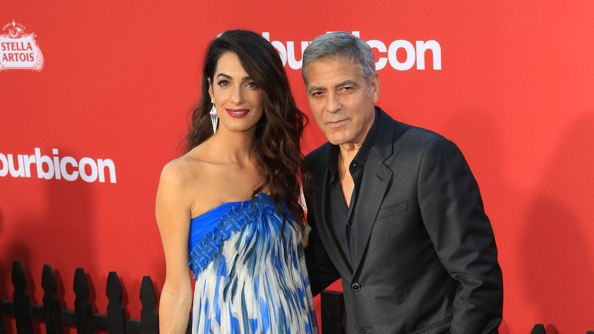 Die Babygerüchte um Amal und George Clooney sind falsch.. © gotpap/starmaxinc.com/ImageCollect