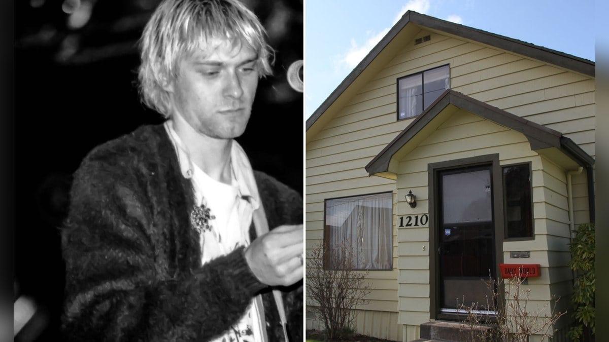 In diesem Haus verbrachte Kurt Cobain seine Kindheit.. © imago images/Votos-Roland Owsnitzki/getty/Sebastian VUAGNAT/AFP