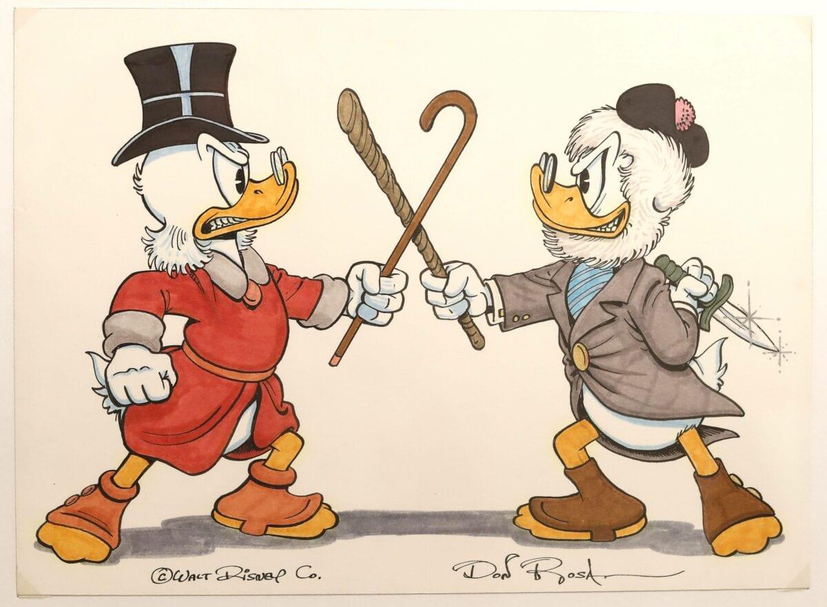 dagobert duck reich millionär geld