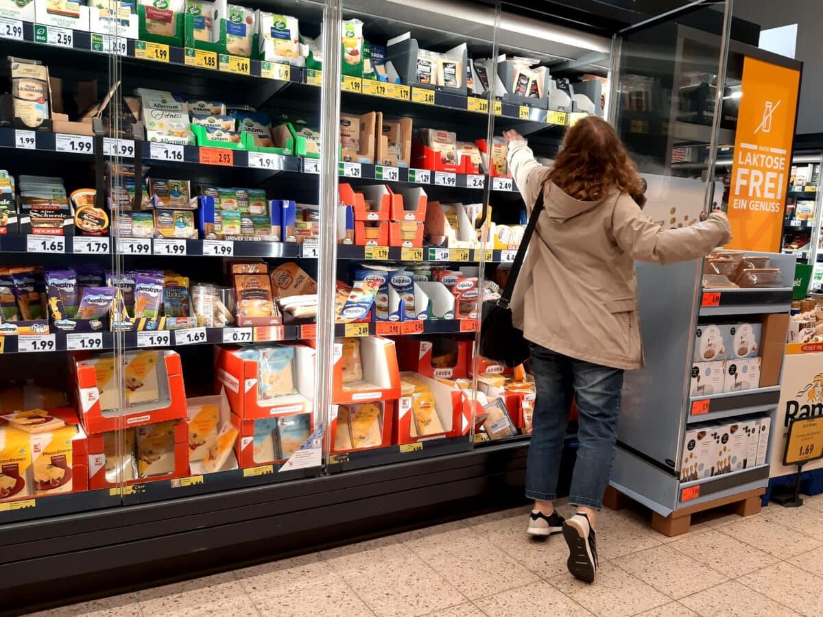 aldi mlich regal supermarkt einkaufen