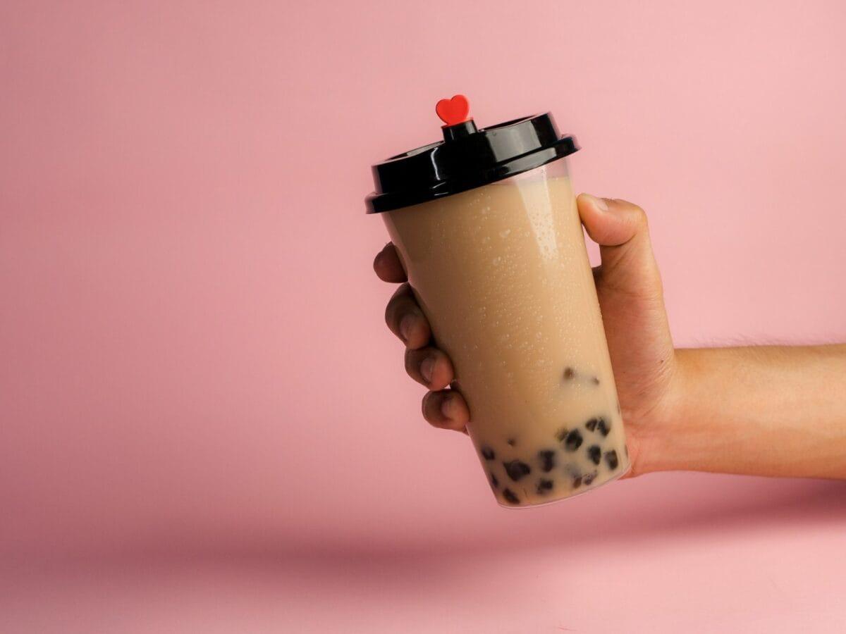 Bubble Tea Hand Pink