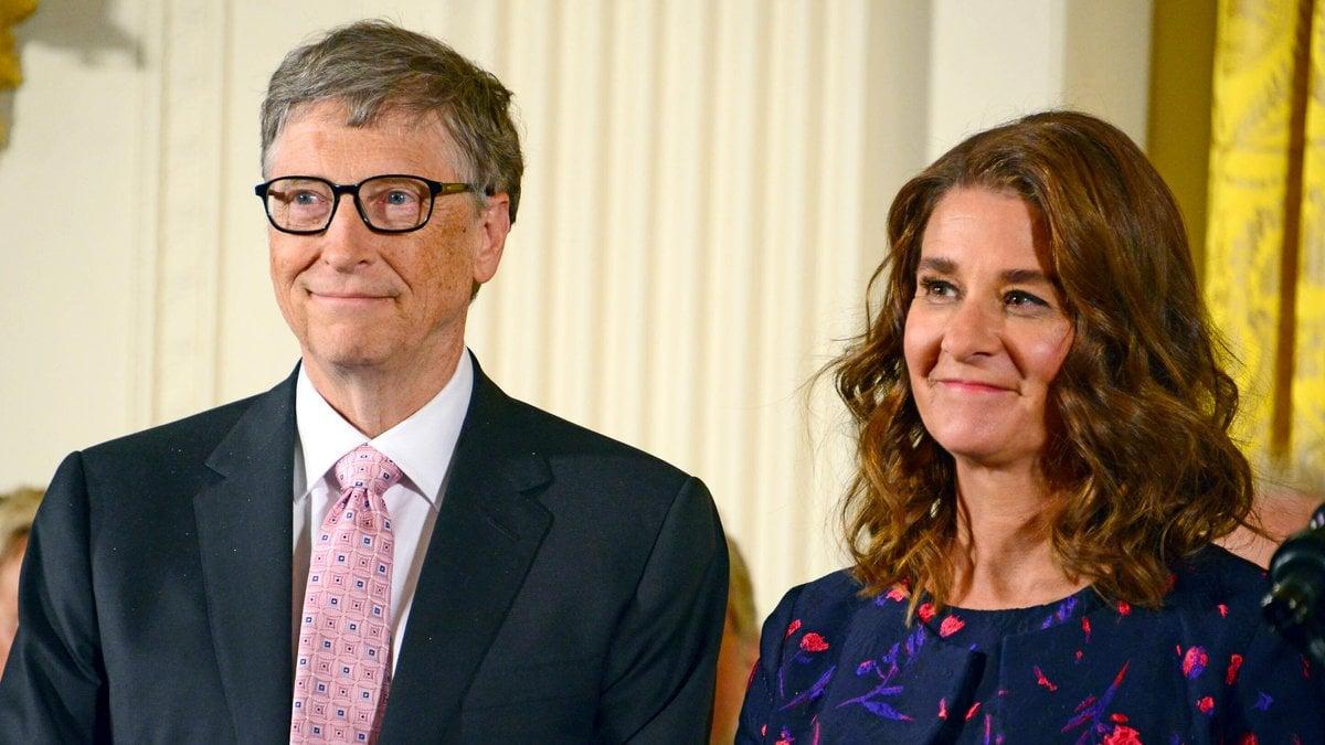 Microsoft-Mitgründer Bill Gates und Melinda Gates haben sich nach rund 27 Jahren Ehe scheiden lassen.. © imago/MediaPunch