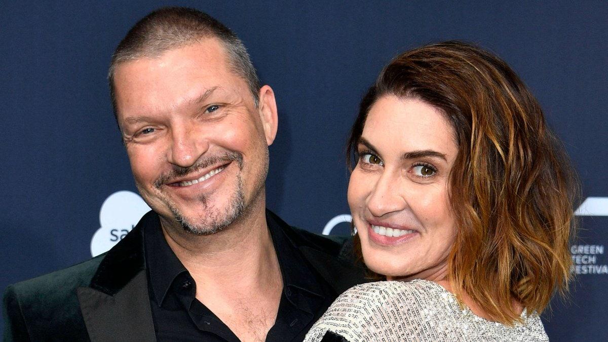 Hardy Krüger Jr. und seine Frau Alice im vergangenen Jahr. © imago images/Future Image