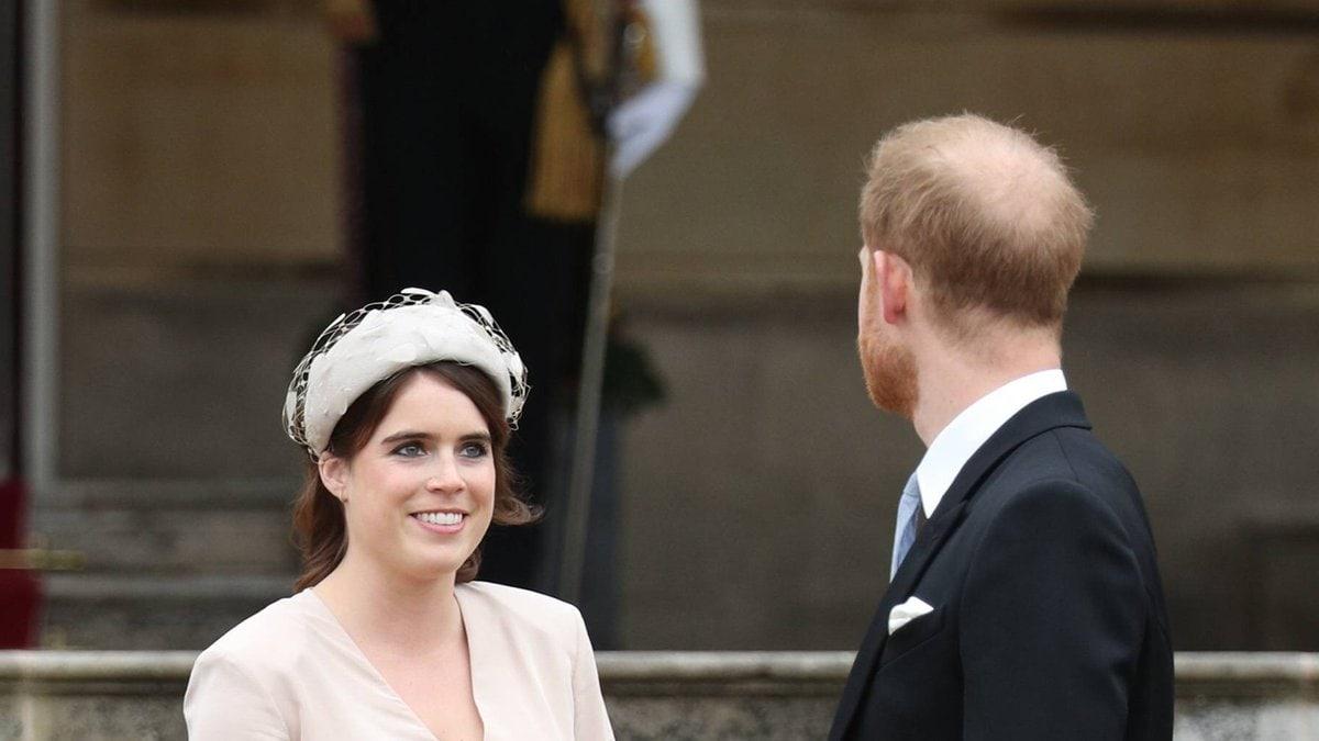 Prinzessin Eugenie mit ihrem Cousin Prinz Harry.. © imago/i Images