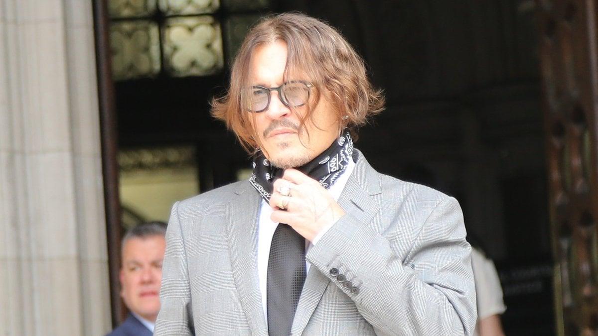 Johnny Depp im vergangenen Jahr während seines Prozesses gegen die britische
