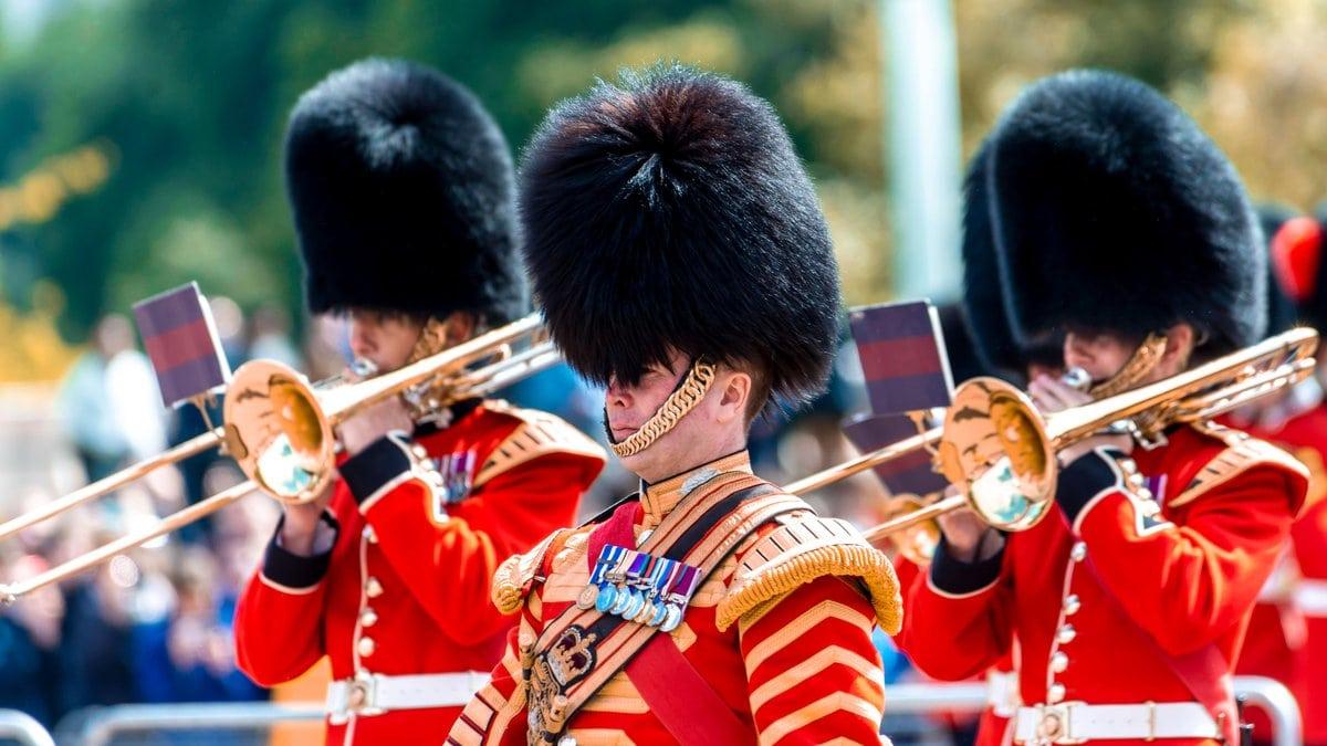 Die Wachen des Buckingham Palast.. © imago/imagebroker