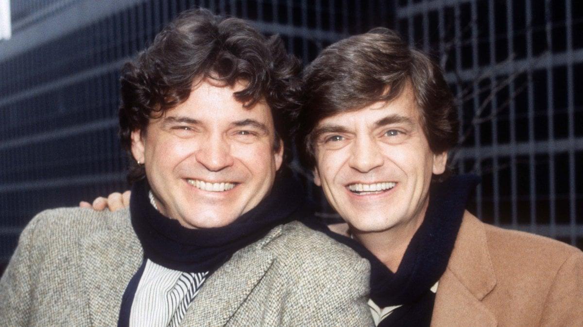Philip und Don Everly (l.) waren gemeinsam als The Everly Brothers bekannt.. © ImageCollect/Adam Scull/PHOTOlink.net