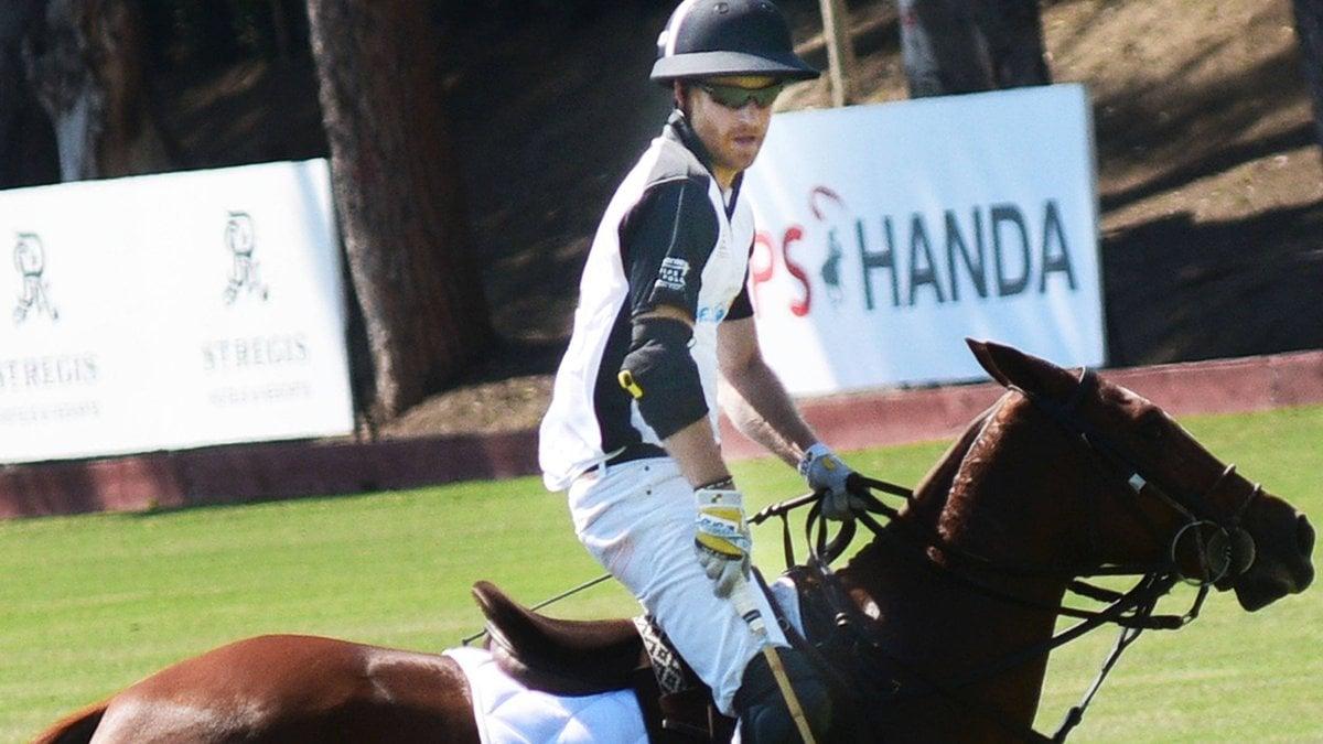 Prinz Harry ist ein begeisterter Polo-Spieler.. © imago/Independent Photo Agency Int.