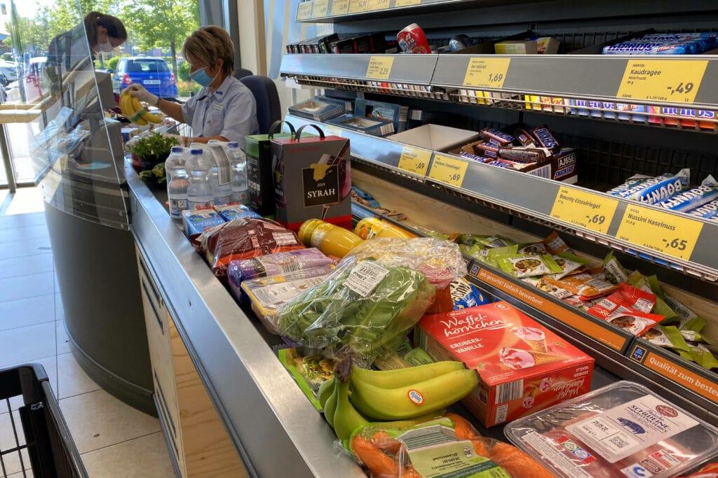 Aldi Supermarkt Kasse