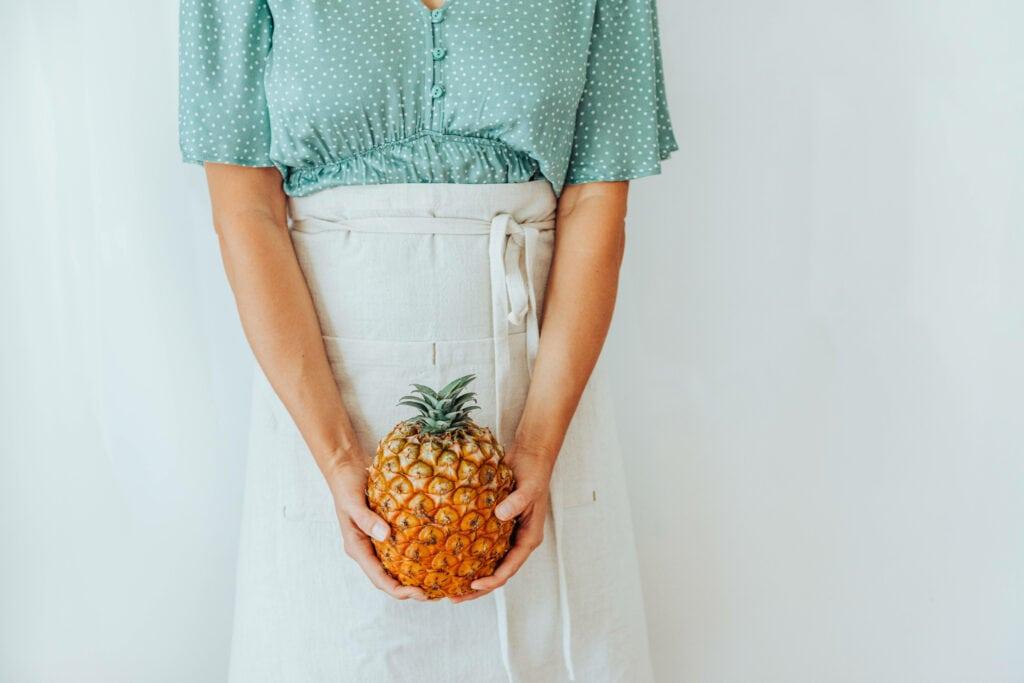 Frau Ananas