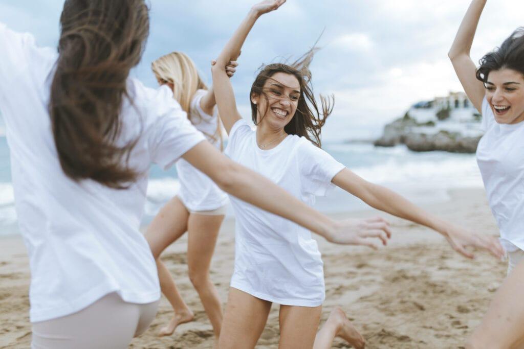 Frauen Strand