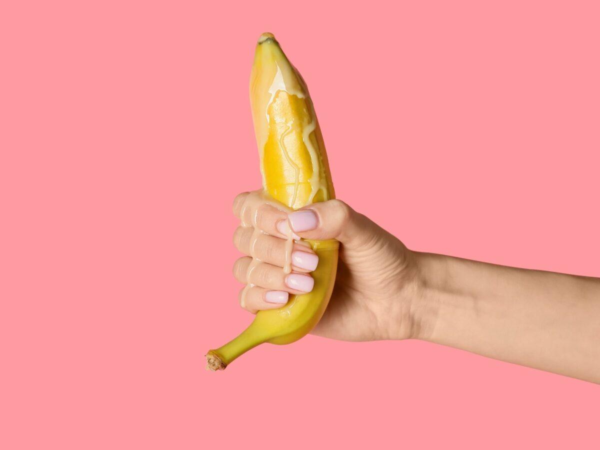 Banane Hand Sex Fruit