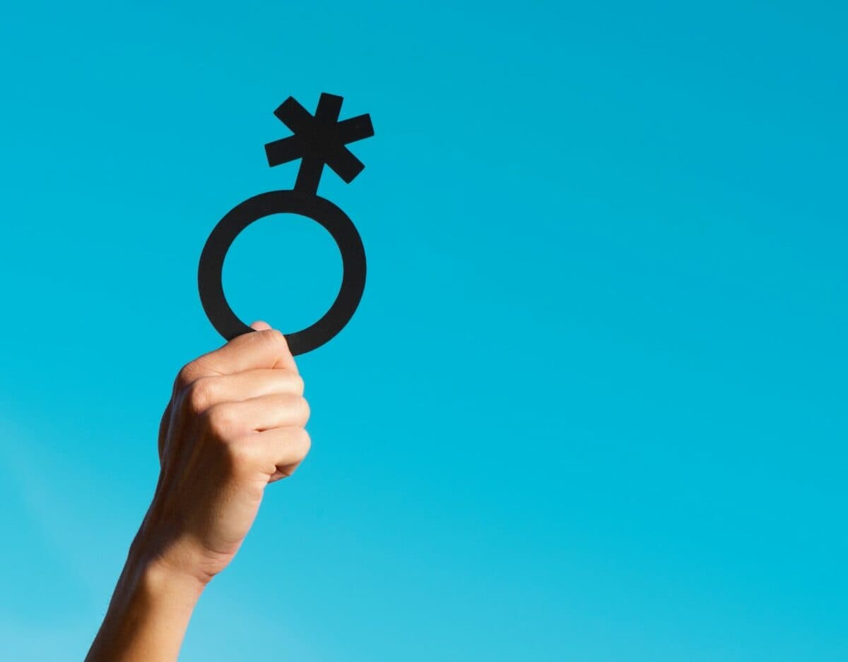 Hand Symbol Geschlechter