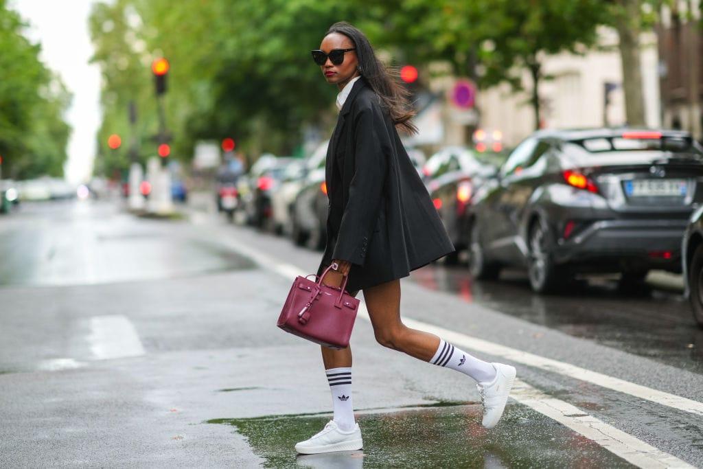 Adidas socken style frau streetstyle