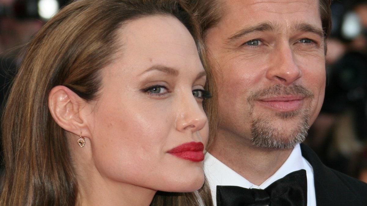 Angelina Jolie und Brad Pitt während glücklicherer Tage in Cannes.. © Denis Makarenko/Shutterstock.com