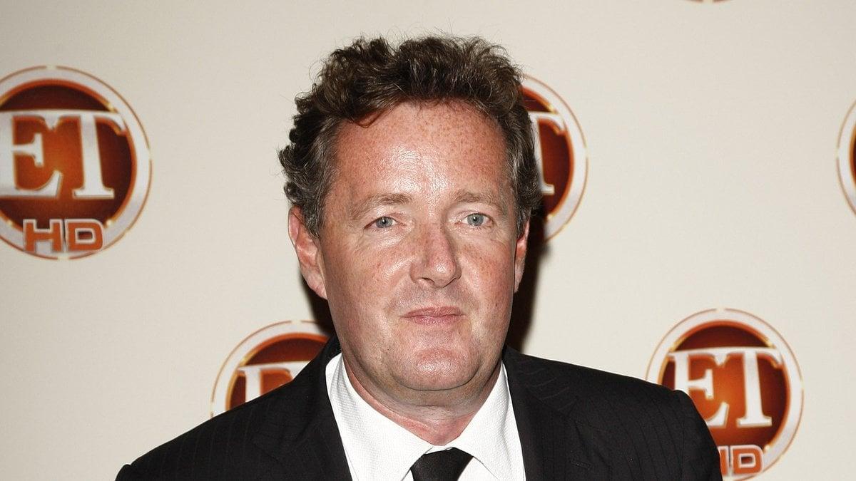Der britische Moderator Piers Morgan während eines Events in Kalifornien.. © Joe Seer/Shutterstock.com