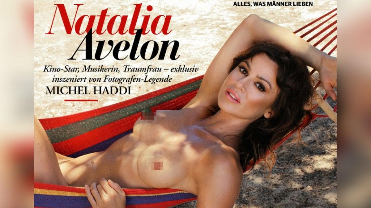 Natalia Avelon wurde für den
