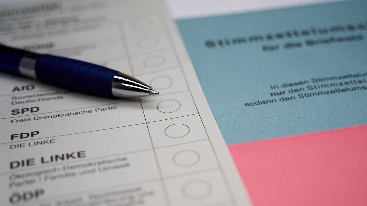 Briefwahlunterlagen für die Bundestagswahl können auch recht kurzfristig beantragt werden.. © Jan von nebenan/Shutterstock