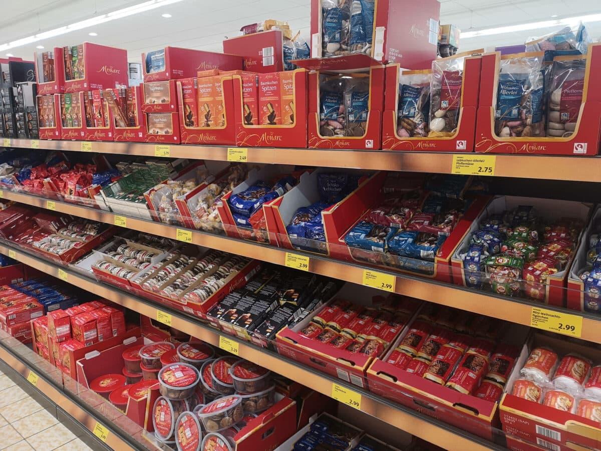 supermarkt weihnachtsplätzchen
