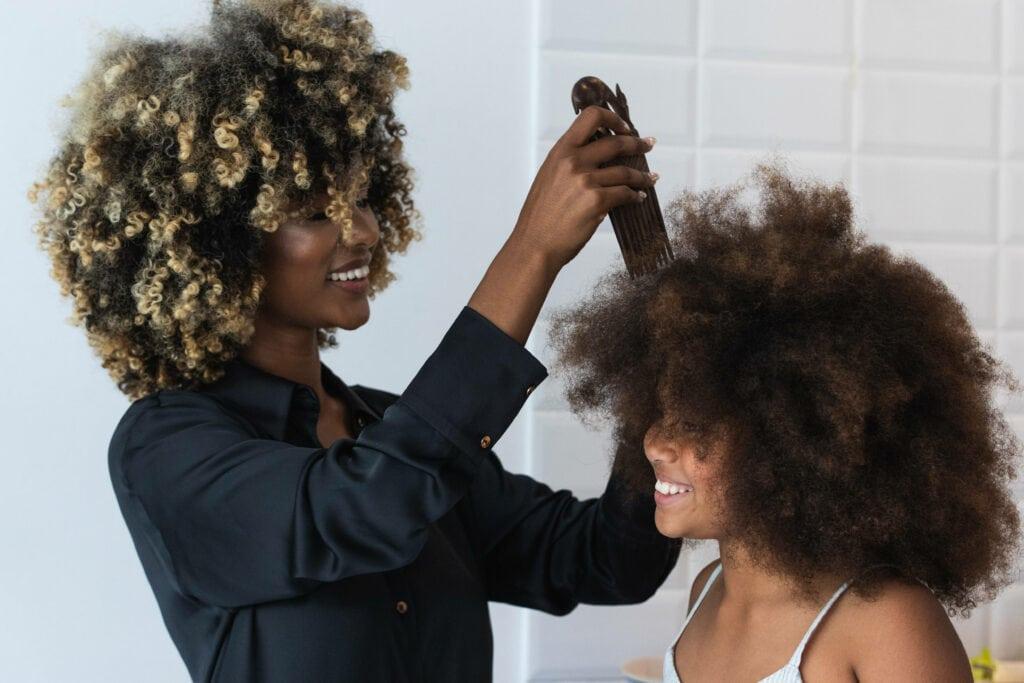 Afro Haare Pick