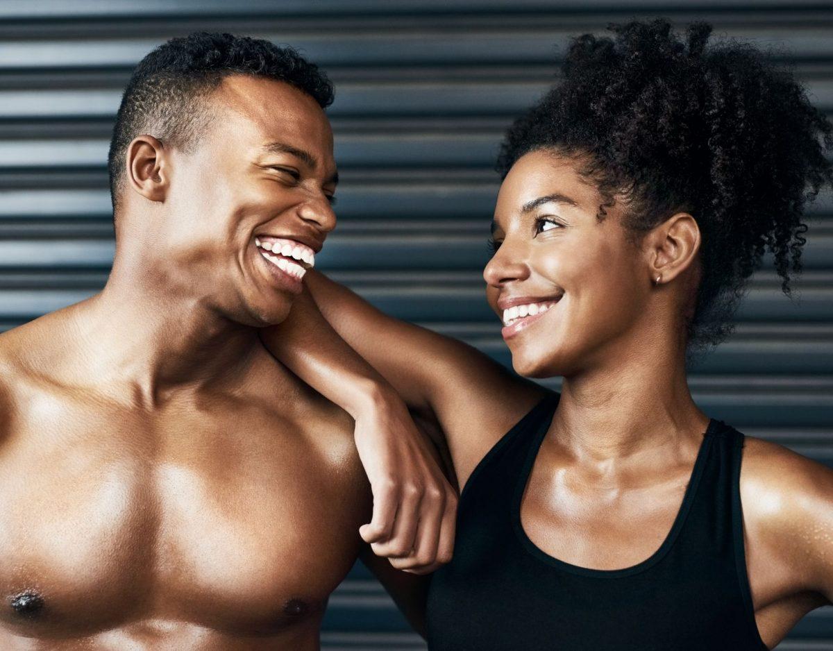 Paar Gym Fitness