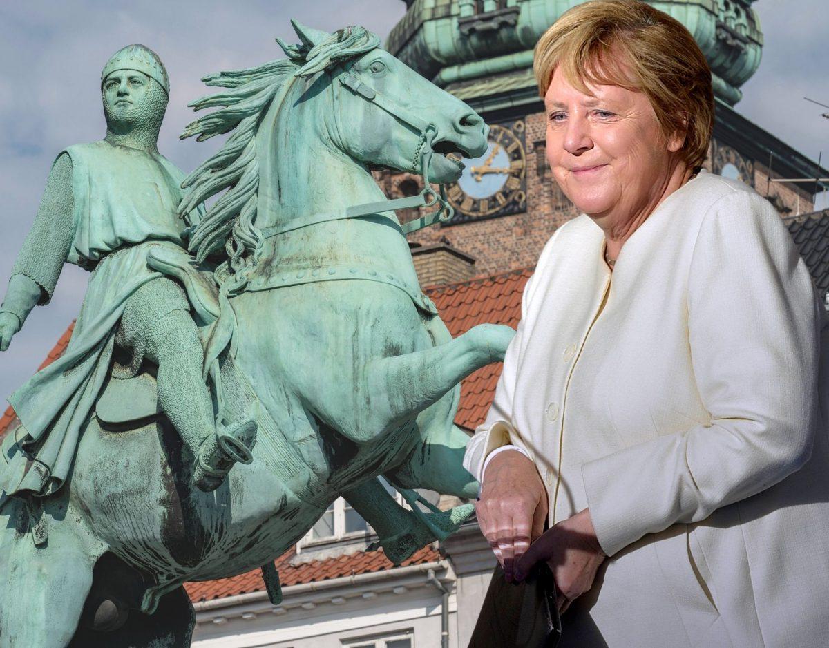 Angela merkel bekommt eine neue Statue