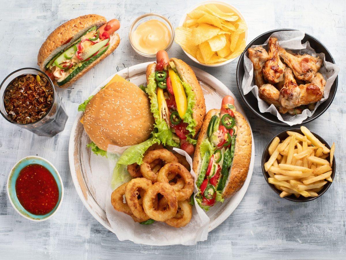 amerikanisches Essen USA