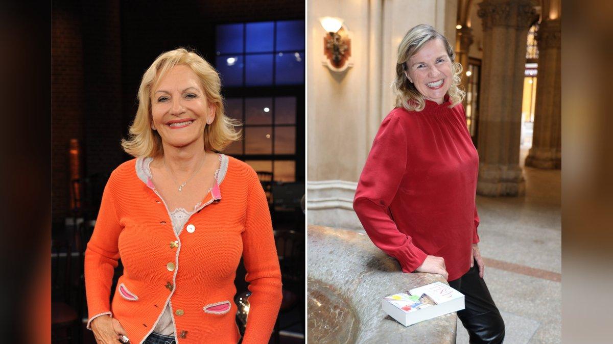 Gaby Hauptmann und Hera Lind wurden durch ihre Romane berühmt.. © imago/Horst Galuschka / imago/SKATA